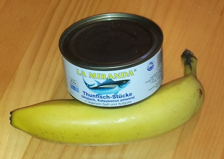Banane oder Thunfisch vor dem Training?