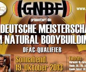 10. GNBF e. V. Deutsche Natural Bodybuilding-Meisterschaft