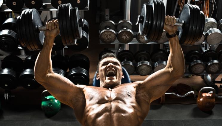 Intensivwiederholungen – Hardcore Bodybuilding