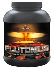 Plutonium Pre-Workout Booster